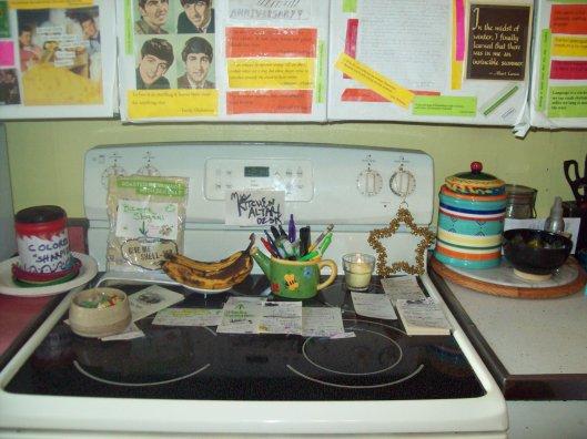 Kitchen altar/desk/stove