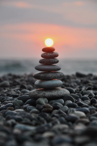 stones and sun