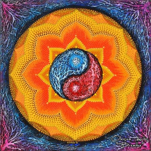 yin yang mandala