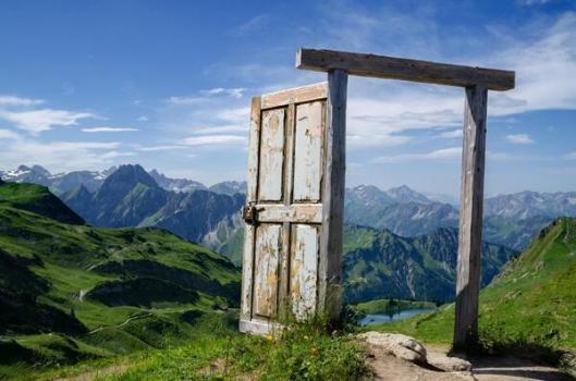 nature door