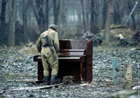 soldier, piano