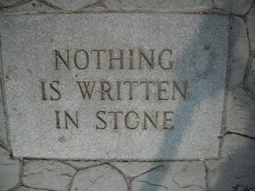 nothing stone